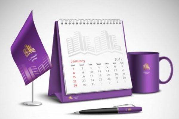 Convenience Designs Corporate Identity Desk Calender