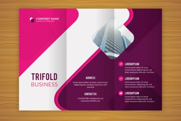 Convenience Designs Tri-fold brochure design